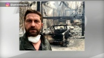 Gerard Butler home burned