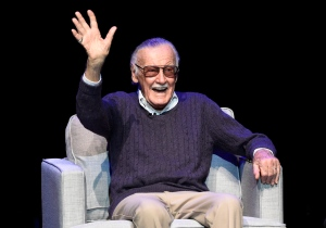 "In this Aug. 22, 2017, file photo, comic book writer Stan Lee waves to the audience after being introduced onstage at the ""Extraordinary: Stan Lee"" tribute event at the Saban Theatre in Beverly Hills, Calif. Comic book genius Lee, the architect of the contemporary comic book, has died. He was 95. The creative dynamo who revolutionized the comics by introducing human frailties in superheroes such as Spider-Man, The Fantastic Four and The Incredible Hulk, was declared dead Monday, Nov. 12, 2018, at Cedars-Sinai Medical Center in Los Angeles, according to Kirk Schenck, an attorney for Lee's daughter, J.C. Lee. (Photo by Chris Pizzello/Invision/AP, File)"