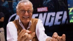 Legendary comic book creator Stan Lee mimics Spiderman as he celebrates 50 years of the comic book character at the Fan Expo convention in Toronto on Thursday, August 23, 2012. THE CANADIAN PRESS/Michelle Siu