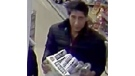 "This undated file photo released Wednesday Oct. 24, 2018, by Britain's Blackpool Police, shows an alleged thief bearing a striking resemblance to Ross Geller, the character played by actor David Schwimmer on the TV show ""Friends."" (Blackpool Police via AP, File)"
