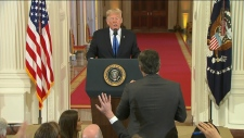Trump, Acosta