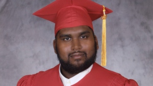 Jason Ramkishun, 23, is seen in this photo. (Peel Regional Police)