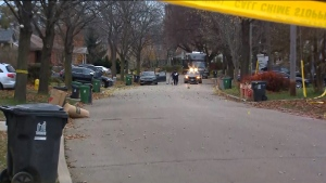 Police are investigating a fatal shooting in Humberlea.