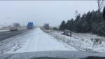 snow, squall