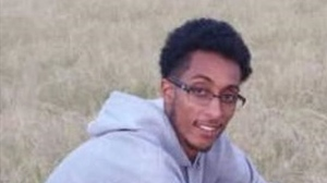 Youhannes Brhanu, 22, is shown in a handout image from Toronto police.