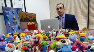 Lawyer Joey Zurkan is seen in this undated handout photo. A judge has authorized a lawsuit to proceed against McDonald's Canada over the marketing of Happy Meals to Quebec children. Montreal lawyer Joey Zurkan sought authorization for a class action lawsuit, arguing promotion of the popular meals constitutes illegal advertising to children. THE CANADIAN PRESS/HO, Joey Zurkan *MANDATORY CREDIT*