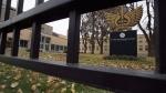 St. Michael's College School is shown in Toronto on Thursday, November 15, 2018. (THE CANADIAN PRESS/Frank Gunn)