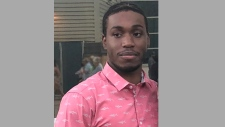 Cardinal Licorish, 23, is pictured in this photo released by Toronto police. (Handout)