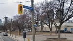 The intersection of Queen Street East and Sherbourne Street is seen. (Google Maps)