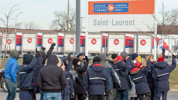 Canada Post rotating strikes return to Kitchener-Waterloo