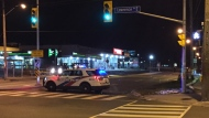 One male pedestrian was taken to a trauma centre following a fail-to-remain collision in Scarborough. (Michael Nguyen/ CP24)