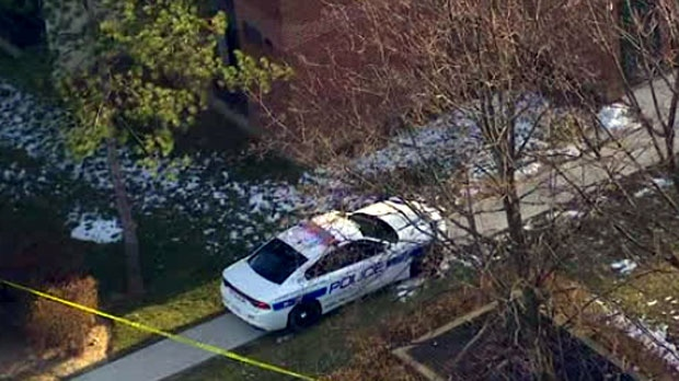 Two men charged in shooting outside Mississauga apartment tower