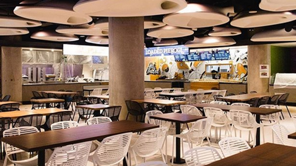 Union Station's new food court is pictured.  (torontounion /Instagram)