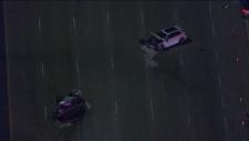 Highway 407 collision