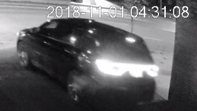 Police have released this image of a suspect vehicle wanted in connection with a shooting in the Fashion District. (Toronto Police Service handout)