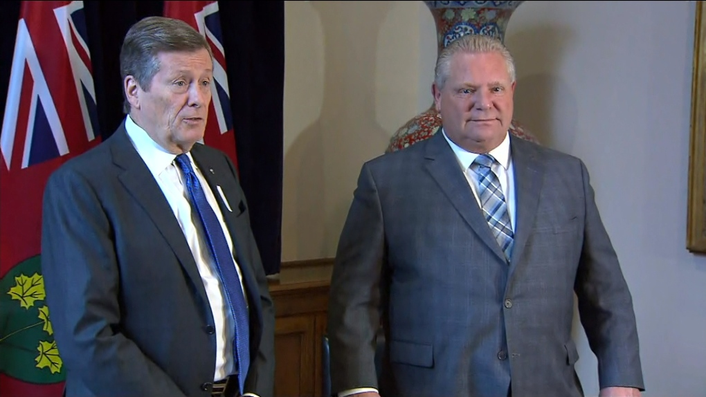 Tory, Ford to meet at Queen's park