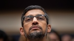 Google CEO Sundar Pichai appears before the House Judiciary Committee to be questioned about the internet giant's privacy security and data collection, on Capitol Hill in Washington, Tuesday, Dec. 11, 2018. (AP Photo/J. Scott Applewhite)