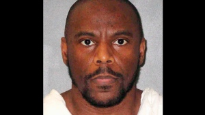 This photo provided by the Texas Department of Criminal Justice shows Alvin Braziel Jr., who was executed by lethal injection on Tuesday, Dec. 11, 2018. (Texas Department of Criminal Justice via AP)