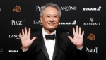 "FILE - In this Nov. 17, 2018, file photo, Taiwanese director Ang Lee poses on the red carpet at the 55th Golden Horse Awards in Taipei, Taiwan. The Library of Congress announced Wednesday, Dec. 12, 2018, that the films ""Jurassic Park,"" ''Brokeback Mountain"" and ""My Fair Lady"" are among the 25 movies tapped for preservation this year. (AP Photo/Chiang Ying-ying, File)"