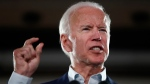 In this Oct. 31, 2018, file photo, former Vice President Joe Biden speaks during a rally in Bridgeton, Mo. (AP Photo/Jeff Roberson, File)