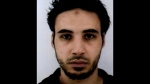 FILE - This undated file handout photo provided by the French police, shows Cherif Chekatt, the suspect in the shooting in Strasbourg, France. The French government spokesman says security forces are trying to catch the suspected shooter dead or alive, Thursday Dec. 13, 2018, two days after an attack near Strasbourg's Christmas market. (French Police via AP, File)