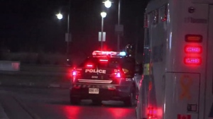 Police are investigating a stabbing in Mimico this morning.
