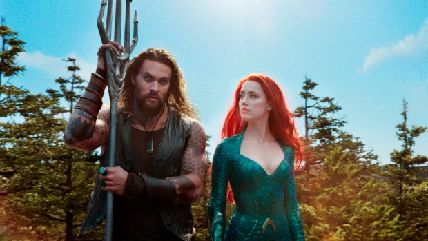 'Aquaman' stays afloat atop North American box office