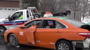 The SIU is investigating after Beck Taxi says a driver was carjacked at gunpoint in Toronto.