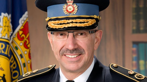 Incoming Interim OPP Commissioner Gary Couture is seen in an image from the force (OPP.ca)