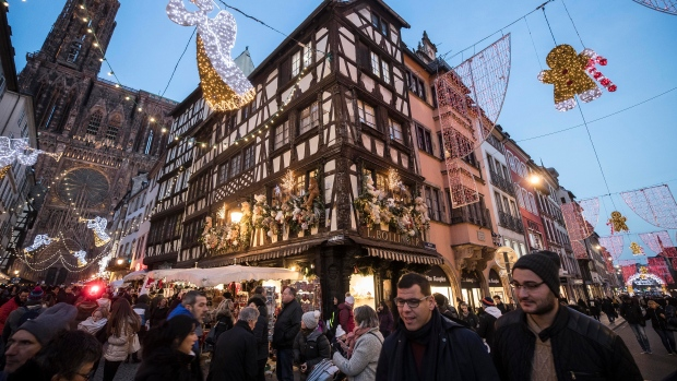 Strasbourg honours victims of terror attack as death toll rises to five