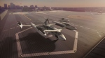 Vertical takeoff and landing craft (VTOLs), like this model from Uber, could be shuttling passengers from airports to downtown vertiports by the mid-2020s, according to reports and the dozen or so companies striving to build the first generation of flying cars. THE CANADIAN PRESS/HO-Uber MANDATORY CREDIT