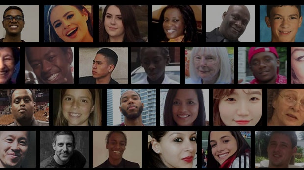 The 96 people who lost their lives in Toronto's most deadly