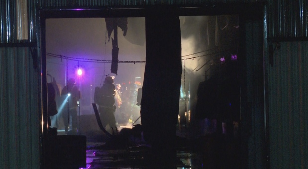 Two horses were killed in a barn fire in Milton early Friday morning.
