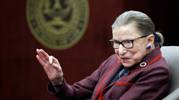Justice Ruth Bader Ginsburg Hospitalized for Lung Cancer