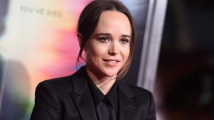 """Ellen Page arrives at the world premiere of """"Flatliners"""" at The Theatre at Ace Hotel in Los Angeles on September 27, 2017. THE CANADIAN PRESS/AP, Invision - Richard Shotwell"""