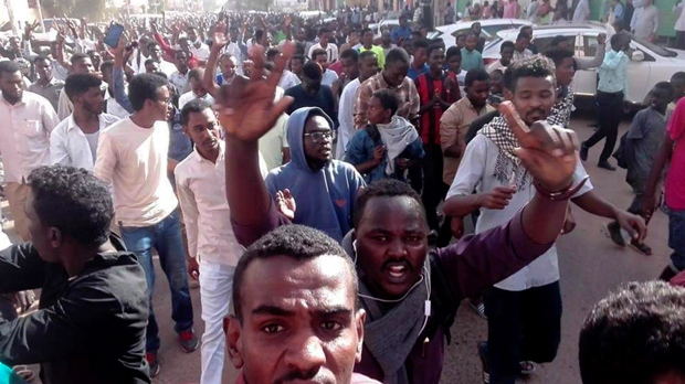 Security forces disperse Sudanese demonstrators after week of protests