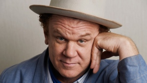 "In this Sept. 8, 2018 photo John C. Reilly, poses for a portrait at the Adelaide Hotel during the Toronto International Film Festival in Toronto. Reilly portrays Oliver Hardy in the film, ""Stan & Ollie."" (Photo by Chris Pizzello/Invision/AP)"