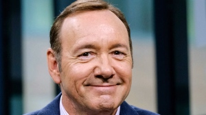 In this May 24, 2017 file photo, Kevin Spacey participates in the speaker series in New York. Lawyers for Spacey are asking a judge to excuse the actor from a Jan. 7, 2019 hearing in Nantucket, Mass. The 59-year-old Oscar winner is charged with felony indecent assault and battery. Prosecutors, who allege Spacey groped an 18-year-old man in a Nantucket restaurant in 2016, asked the judge to deny the motion. (Photo by Evan Agostini/Invision/AP, File)