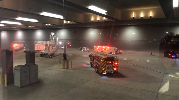 Jetway collapses at Baltimore-Washington International Airport