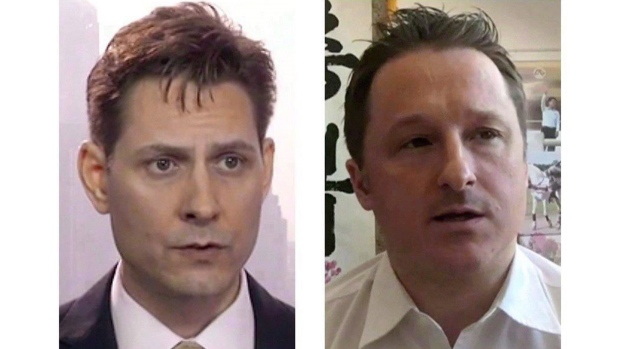 Michael Kovrig and Michael Spavor