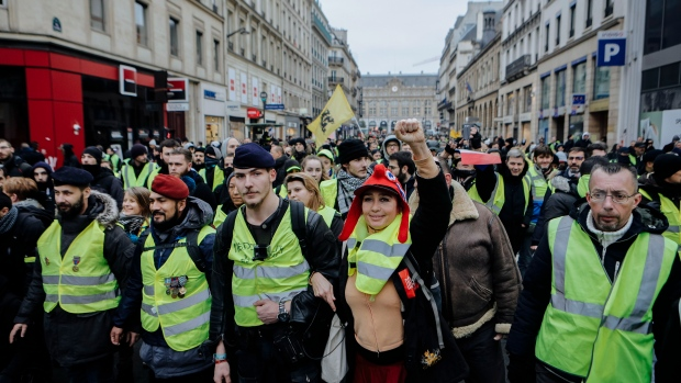 France's yellow vest protests enter 8th week