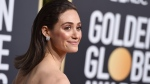 Emmy Rossum arrives at the 76th annual Golden Globe Awards at the Beverly Hilton Hotel on Sunday, Jan. 6, 2019, in Beverly Hills, Calif. (Photo by Jordan Strauss/Invision/AP)