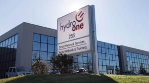 A Hydro One office is pictured in Mississauga, Ont. on Wednesday, Nov. 4, 2015. THE CANADIAN PRESS/Darren Calabrese