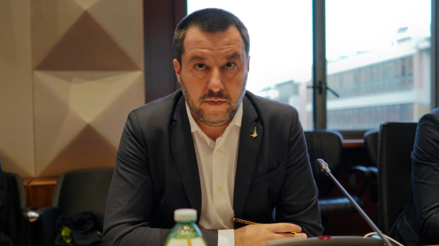 Italy's far-right Salvini calls for populist 'European spring'