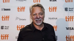 """Anthropocene: The Human Epoch"" has won a $100,000 prize for best homegrown feature from the Toronto Film Critics Association. Edward Burtynsky, co-director of ""Anthropocene"", is photographed during TIFF's 2018 Canadian Press Conference, in Toronto on Wednesday, Aug. 1, 2018. THE CANADIAN PRESS/Christopher Katsarov"