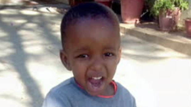 Lorraine Kerubo Ogoti's four-year-old son Moses is seen in this undated photo posted to social media.