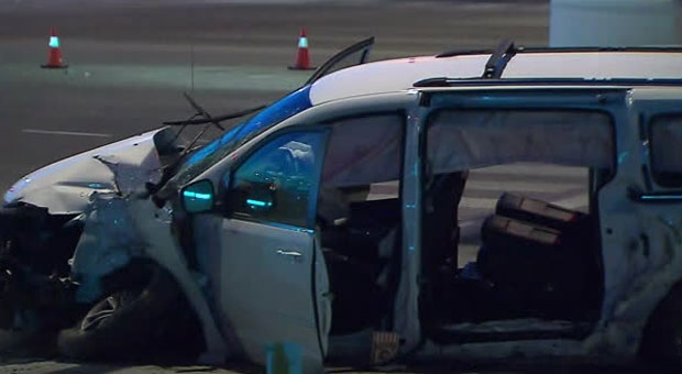 Police are investigating a serious crash in Vaughan.