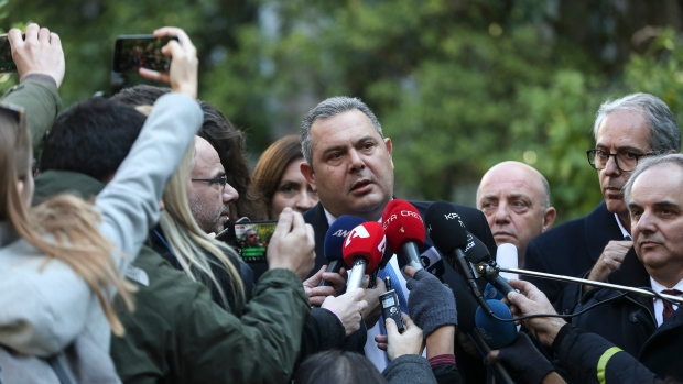 Greek defence minister resigns over Macedonia name change
