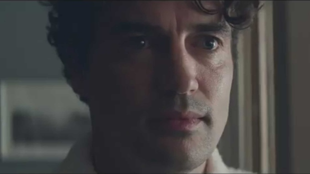 A still image from a controversial new Gillette commercial is pictured. (@Gillette /Twitter)