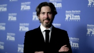 FILE - In this Monday, Nov. 19, 2018 file photo, Jason Reitman attends the 2018 Kirk Douglas Award for Excellence in Film Honoring Hugh Jackman at the Ritz-Carlton Bacara in Goleta, Calif. Four-time Oscar nominee Reitman is set to direct a new installment in the Ghostbusters series for Sony Pictures set to come out in the summer of 2020. Reitman tweeted Tuesday night, Jan. 15, 2019, that he finally got the keys to the car. (Photo by Richard Shotwell/Invision/AP, File)
